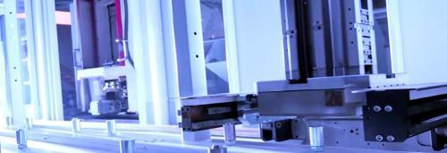Palettenautomation für horizontale BAZ