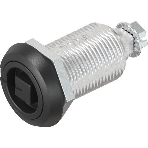 Chiusura 1/4 di giro a compressione con anello di sicurezza