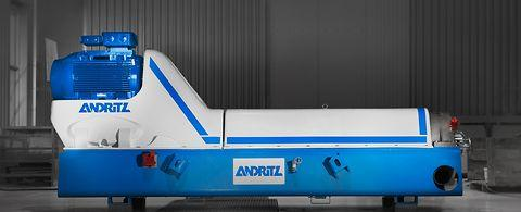 ANDRITZ decanter centrifuges for efficient sludge...