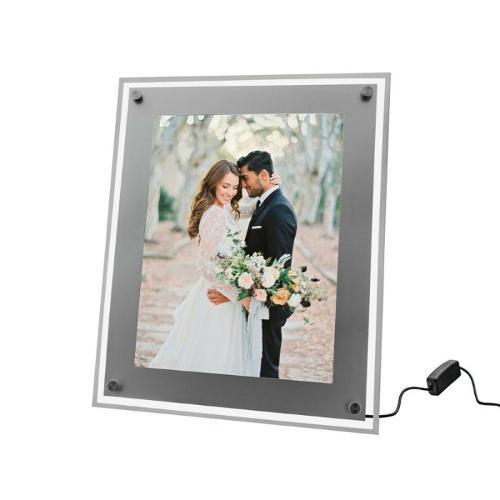 LED acryl display verlichte tafelstandaard