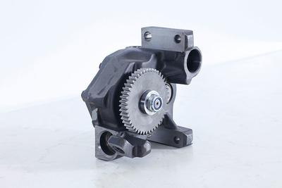 Oil pump gear box