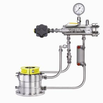 Sterile system for mechanical seals