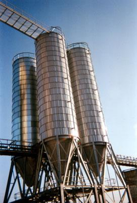 Storage silos for all bulk products - AGC ITALIA
