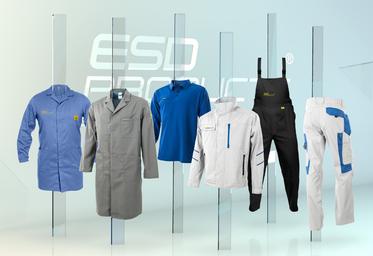 Antistatic ESD Clothing