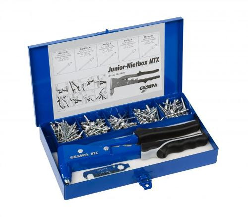 Junior riveting kit (Blind rivet hand tools)
