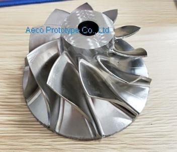 Stainless Steel Impeller Wheel Vane