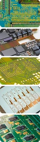Printed circuit boards and chip packaging substrates