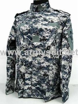Iraq Blue Digital Camo Uniform(With Shoulder Strap)