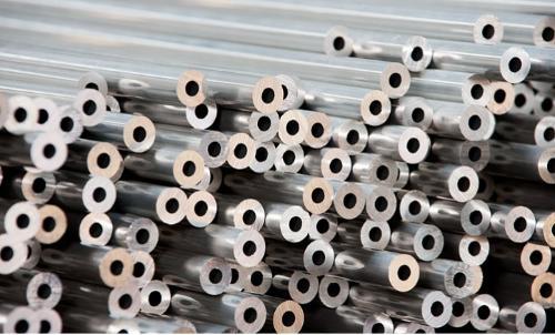 Drawn aluminium tubes