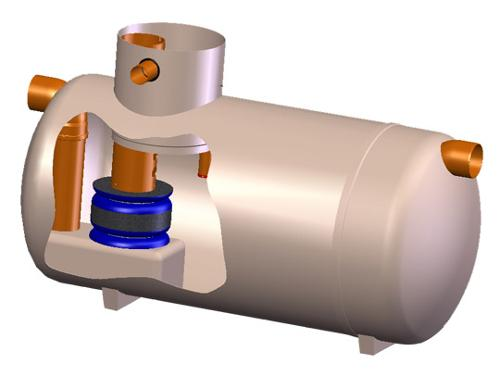 Séparateurs eau/hydrocarbures