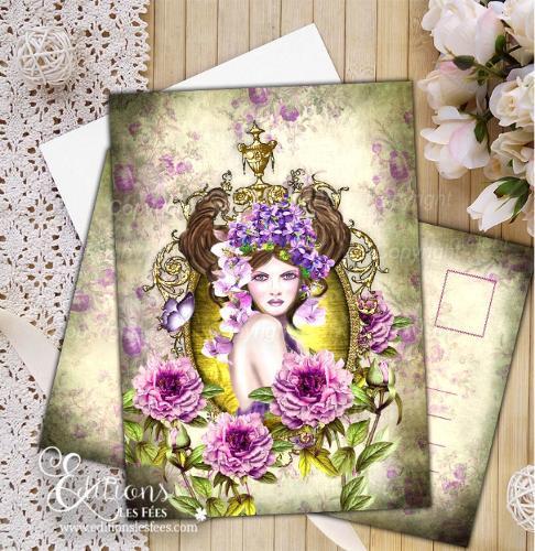 Taureau – Carte Postale Signe Astrologique   Carte d'Art