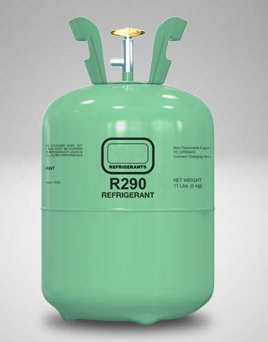 R290 Refrigerant Gas for sale
