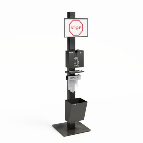 TECHPOST multifunctional stand
