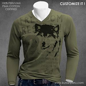 100% pima cotton t-shirt
