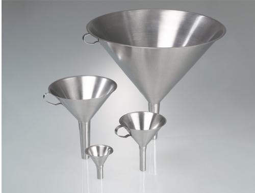 Funnel, stainless steel