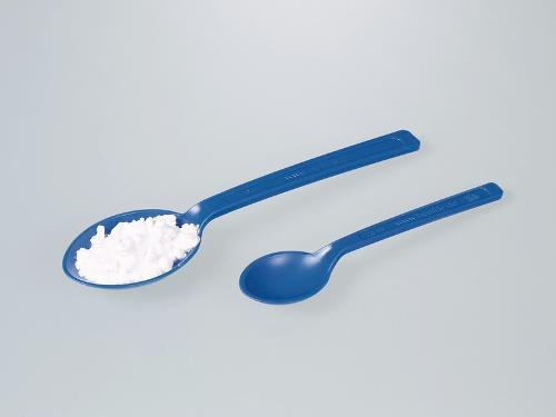 Spoon for foodstuffs, blue