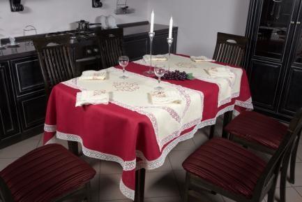 Natural  linen tablecloths