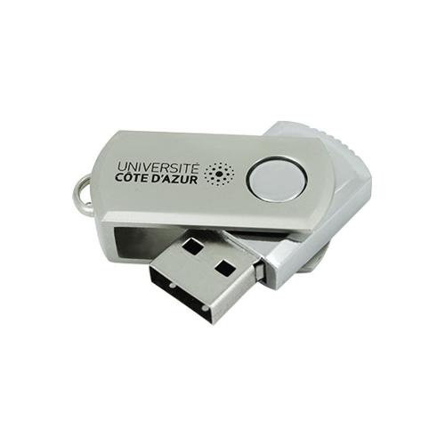 Clé USB Métal Pivotante