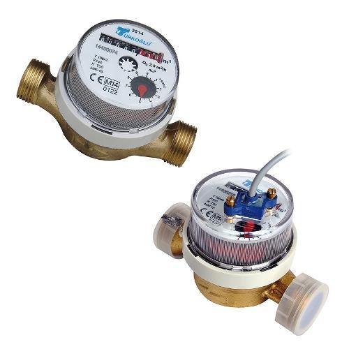 Compteurs d'eau de série NIL Classe C (R160)