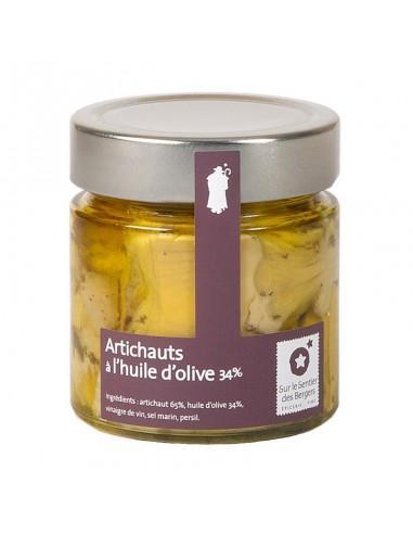 Artichauts à l'huile d'olive 200g