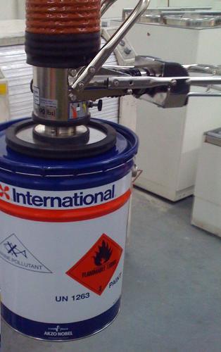 ATEX certified vacuum lifter