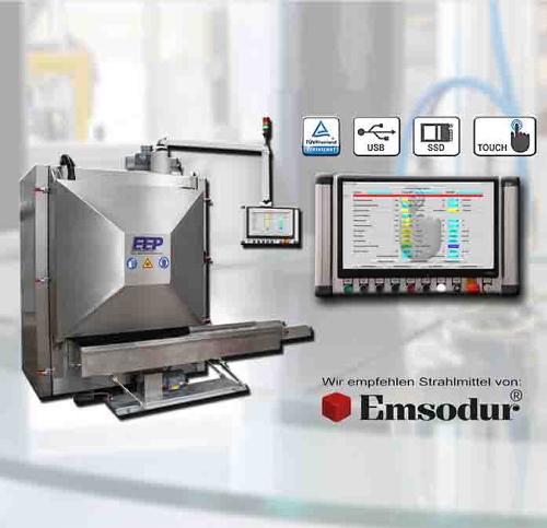 machine d'ébavurage cryogénique E90