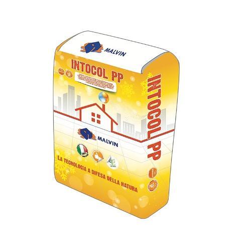 Adhesive and skim coat plaster Intocol PP
