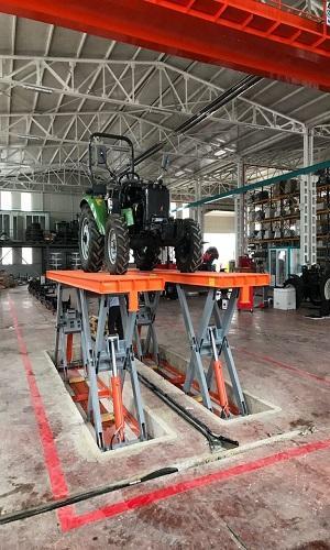 Makaslı Hidrolik Yükleme Platformu