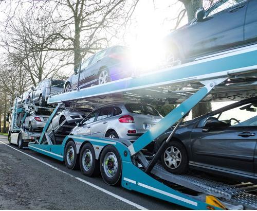 Transport de véhicule d'occasion