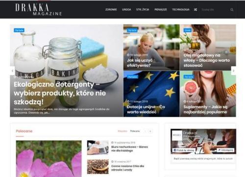 Reklama w serwisie drakka.pl
