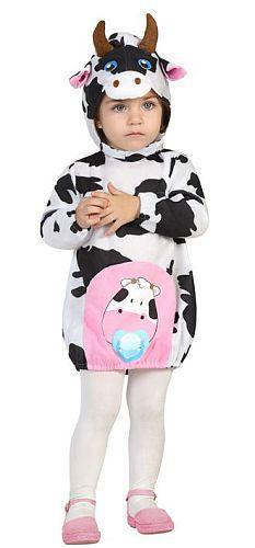 Costume vache 6-12 et 12-24 mois