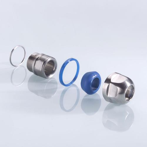 Kabelverschraubung blueglobe CLEAN Plus® – EHEDG Zertifikat