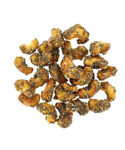 Honey chia cashews