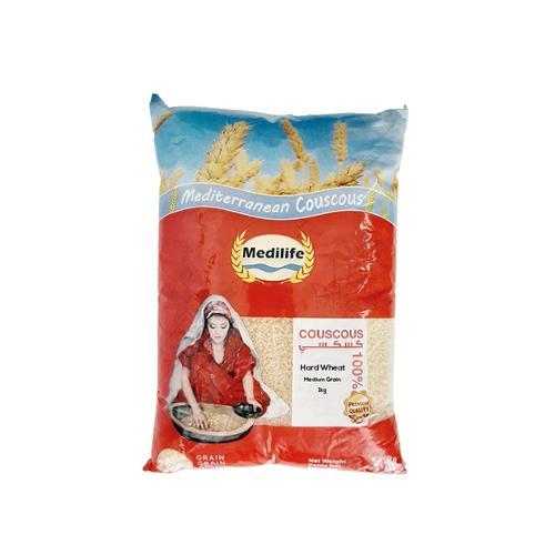 Hard Wheat Couscous . Medium grain Couscous