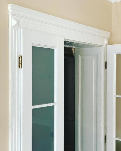 Wooden interior doors
