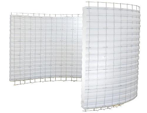 3d Eps wire mesh panels