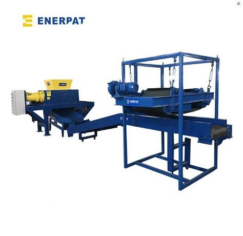 High Efficient Scrap Electronic Shredder Recycling Plant