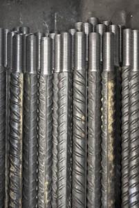 Filetage de fil métal petit et gros diamètre