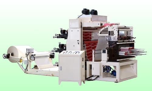 flexo print punch machine