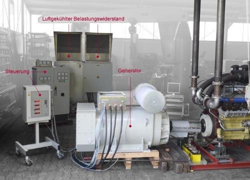 Bremsdynamometer EV