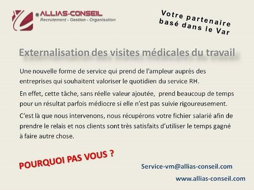 La gestion des visites médicales à l'extérieur