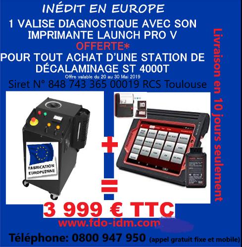 Station de décalaminage IDM ST 4000 T