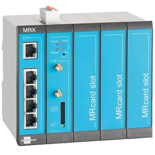 MRX5 DSL-A - Modularer VDSL-/ADSL-Router