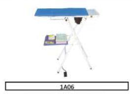 Table de repassage aspirante - chauffante - sans chaudière 1A06