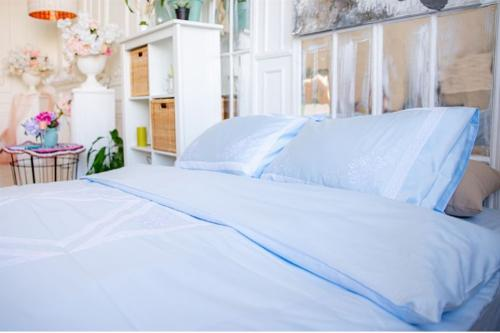 "Bed linen ""Butterfly blue"""