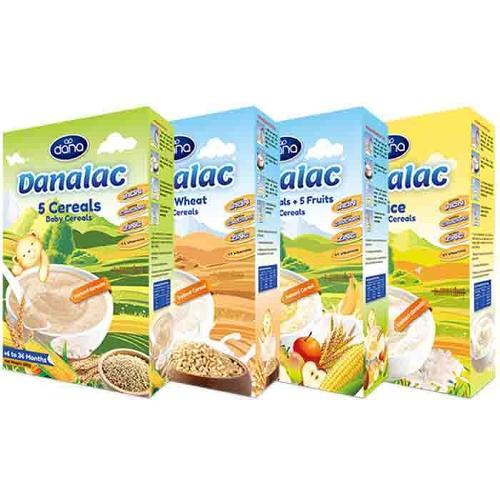 Cereales infantiles DANALAC - alimentos para la nutrición