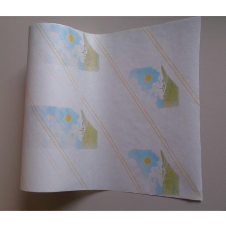 "Bobines ""Soleil"" / Papier Kraft blanchi"