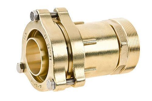 Connector - flange male thread, increased 66012F