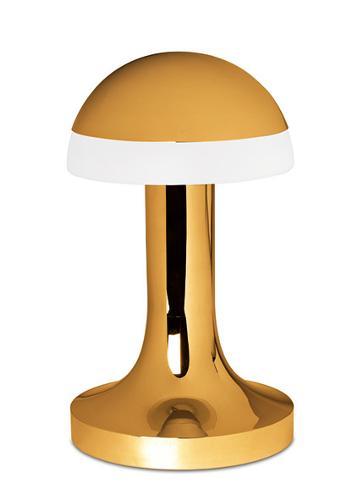арт-деко грибная лампа