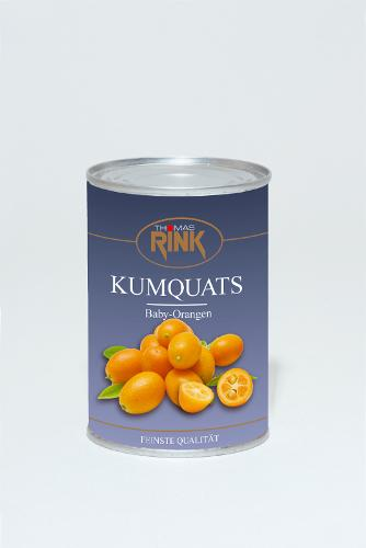 Kumquats, 425 ml, leicht gezuckert